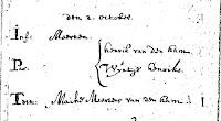 Ham, Meerten van der Ham Doop 02-10-1701 Ameide.jpg