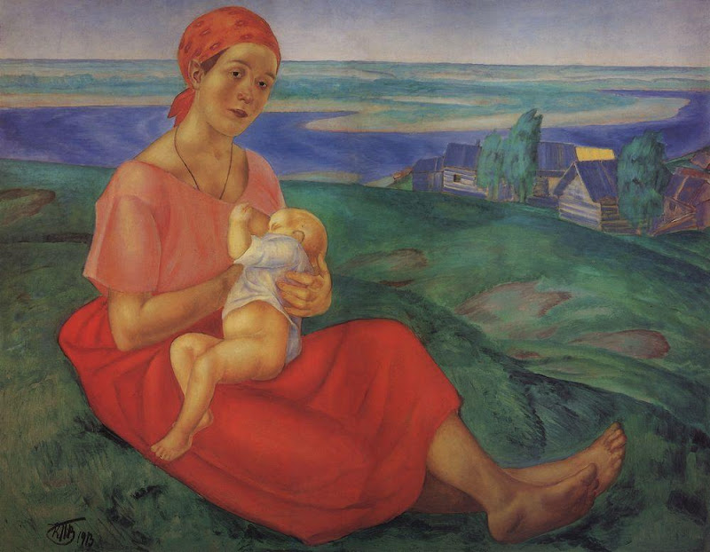 Kuzma Petrov-Vodkin - Mother