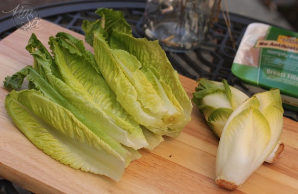 Hearts of Romaine and Endive
