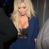 WWW.ENTSIMAGES.COM -   Nicola McLean   arriving   at      Amy Childs Clothing anniversary party at Dirty Martini, London October 27th 2014The Only Way is Essex star hosts party to celebrate the third anniversary of her eponymous fashion line and launch her new autumn/winter 2015 collection.                                                  Photo Mobis Photos/OIC 0203 174 1069