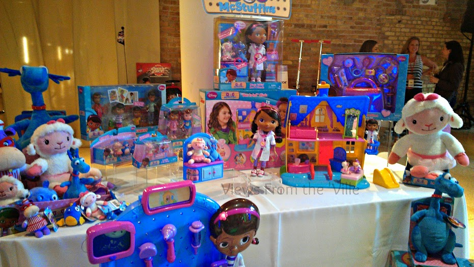 Doc McStuffins' Toys from Just Play at Sweet Suite '13 #SweetSuite13