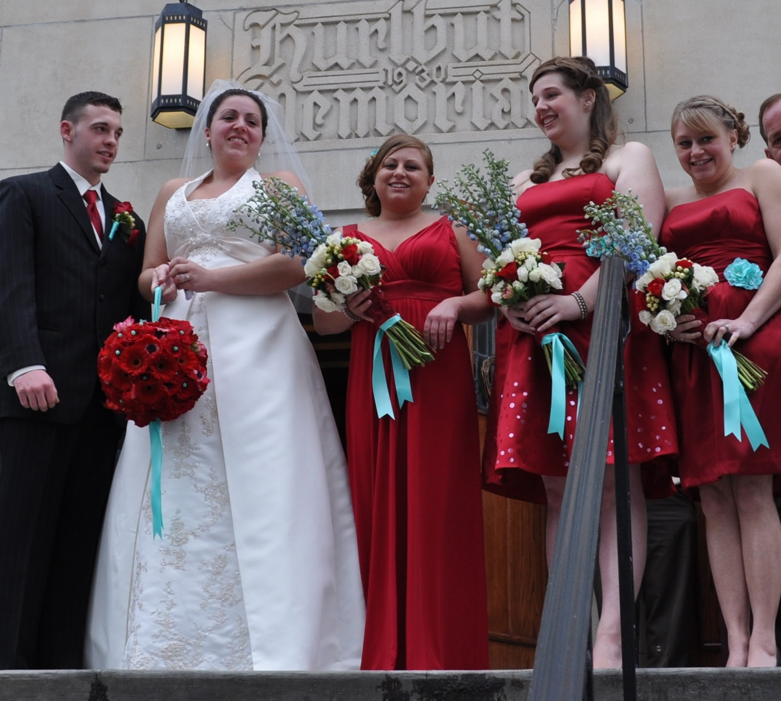 Red And Tiffany Blue Wedding Ideas: A Timeless Tiffany Blue & Red Wedding In New York
