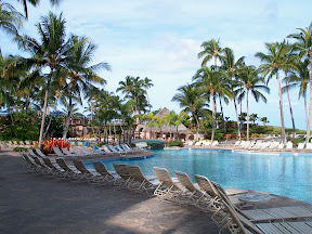 Main pool, Hilton Waikoloa Village