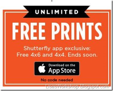 Save at Shutterfly - LisasWorkshop.blogspot.com