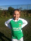 Racheal O'Sullivan another one of our U12s in the Cork development squad