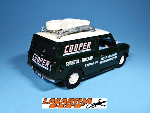 Austin Mini Van Team Cooper