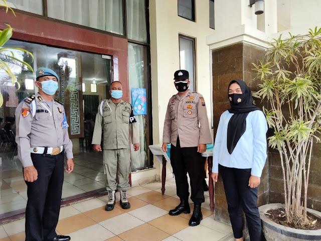 Polsek Padang Hilir laksanakan Pengamanan Musyawarah Pramuka Kwartir Tebing Tinggi