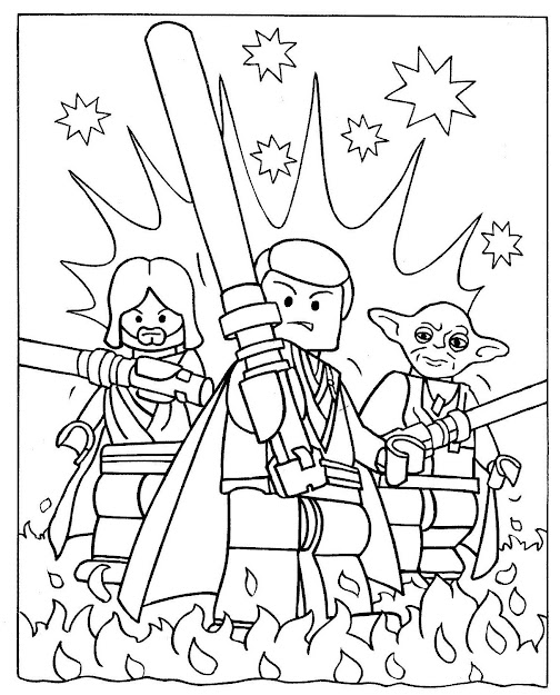 Coloring Pages  Lego Star Wars Le Skywalker Coloring Pages Atkinson  Flowers Lego Star