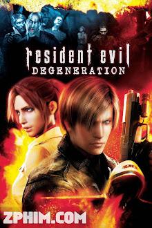 Vùng Đất Quỷ Dữ: Sự Suy Đồi - Resident Evil: Degeneration (2008) Poster