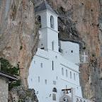 Литургија у Недељу прву по Духовима у Горњем манастиру