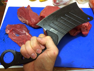 MTECH Tactical cleaver - makes short work of meaty tasks