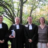 Erntedank und Ordination Jan Weber 2010