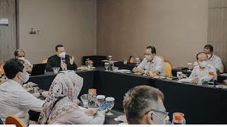 Sekda Menghadiri Pertemuan Koordinasi Pemutakhiran Data Peserta PBI JK dan PBPU  Pemda Karawang