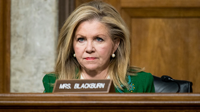 Blackburn Demands Biden Answer 5 Questions About 'Coordination With Big Tech To Censor Americans'