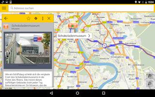Screenshot of ADAC Maps für Mitglieder