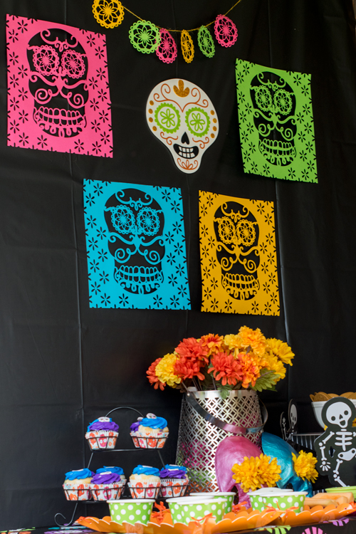 Using a cricut to make papel picado