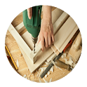 Carpentry techniques icon