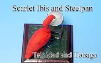 Scarlet Ibis & Steelpan -Trinidad and Tobago-