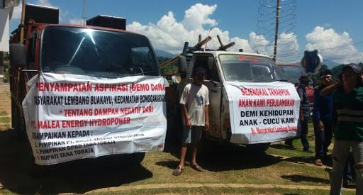 Ancam Turunkan Massa Lebih Banyak, PT Malea di minta Penuhi Tuntutan Warga Buakayu