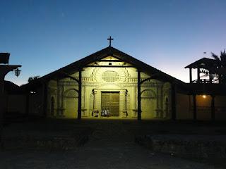 Sur la route des missions. 1er arrêt: San Javier