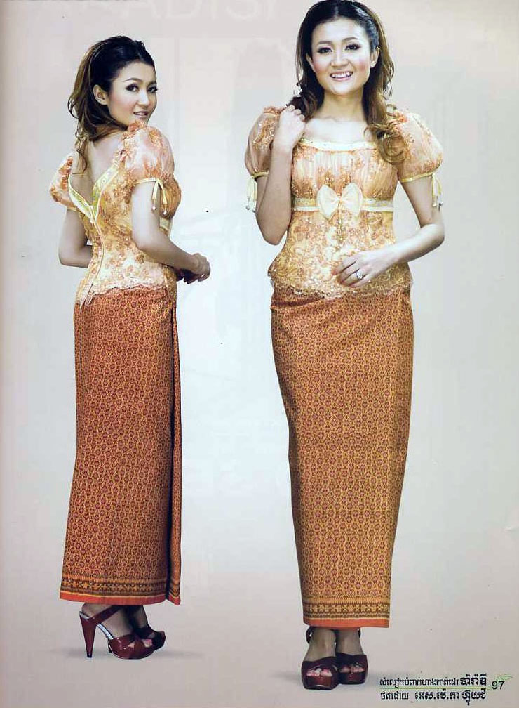 Khmer Clothes In Cambodia: Khmer Clothes Online