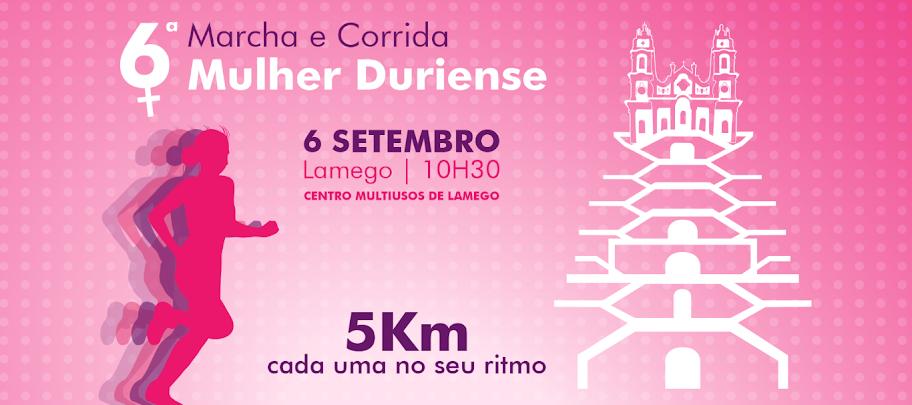 Marcha e Corrida em Lamego festeja Mulher Duriense