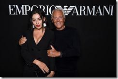 Giorgio Armani, Charli XCX