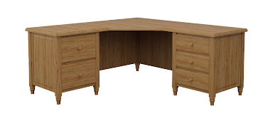 Tulip L-Shaped Desk