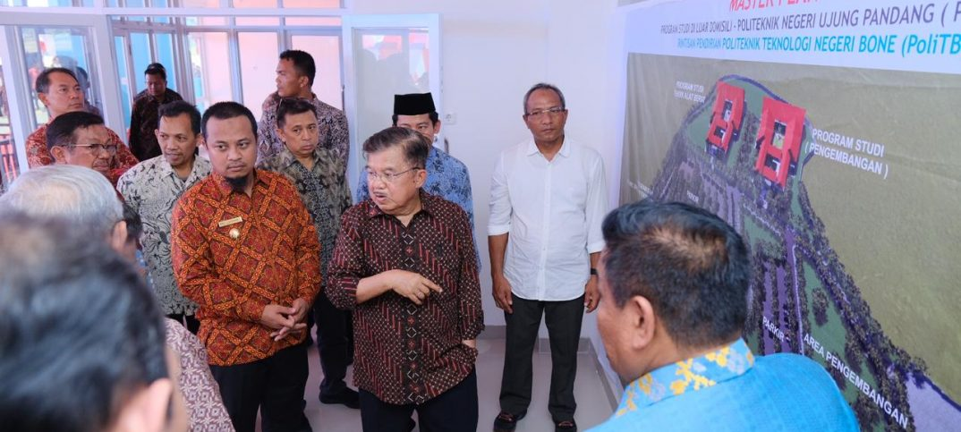 Wagub Sulsel Andi Sudirman Sulaiman Dampingi Wapres JK Pulang Kampung