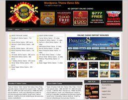 Online Casino Template 900