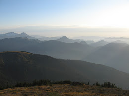 Looking north from the ridge. Could actually see the bay (60+ miles away) from up here.