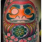 pink flowers - tattoos ideas