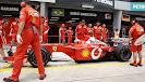Michael Schumacher Ferrari F2001 at Malaysia