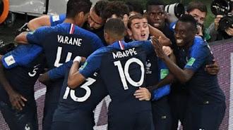 Libas Kroasia,Perancis Jawara Piala Dunia 2018