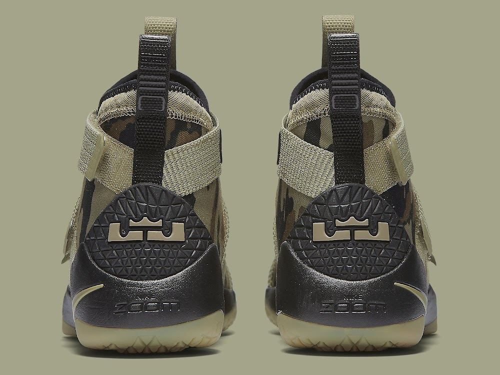 online retailer 26ef4 57ad0 Nike Adds the Mandatory Camo Look to the LeBron Soldier XI ...