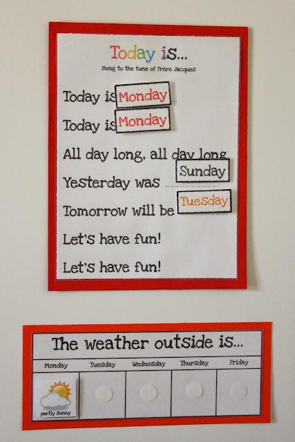 Preschool Morning Board Delightful Learning