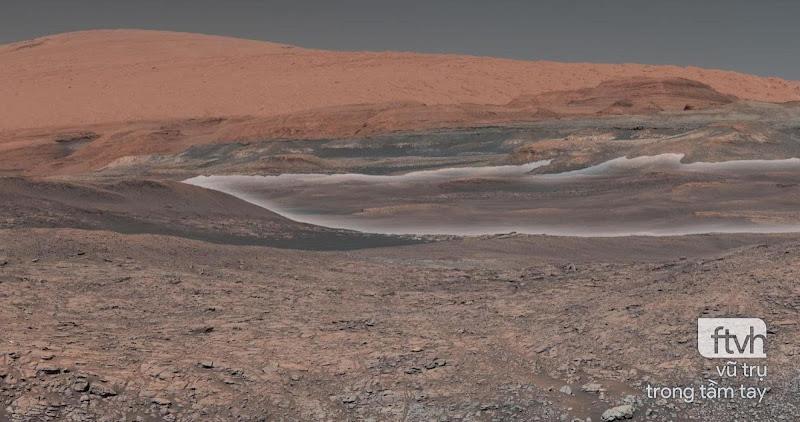 Tàu Curiosity kỷ niệm 2.000 ngày trên Sao Hỏa