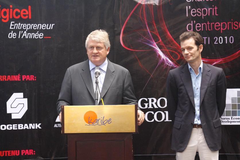 Image result for Digicel Haiti chairman, Maarten Boute PHOTOS