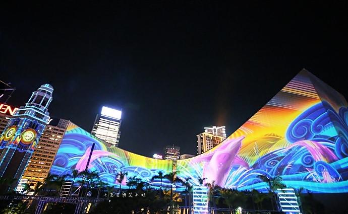 7 香港 閃躍維港 3D光雕匯演