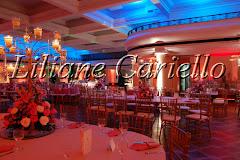 Fotos de decoração de casamento de Casamento Flávia e Vinícius no Clube Ginástico Português da decoradora e cerimonialista de casamento Liliane Cariello que atua no Rio de Janeiro e Niterói, RJ.