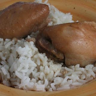 CrockPot Brown Sugar Chicken.