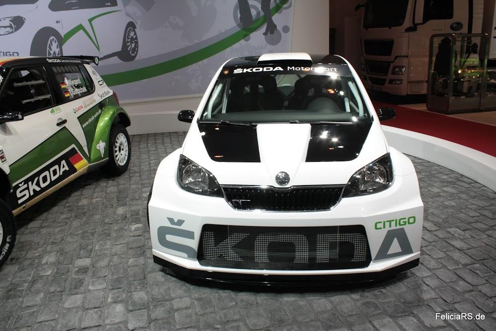 Skoda Citigo Rallye Studie