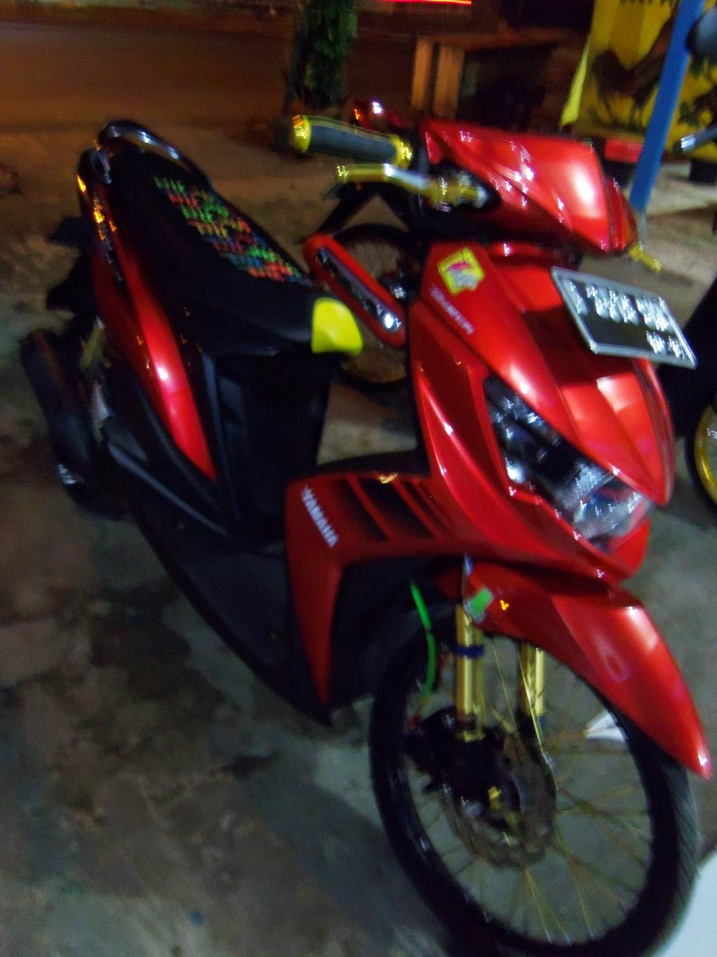 Modifikasi Motor Matic Yamaha Soul Gt