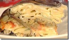 Zuccotto di pasta e melanzane