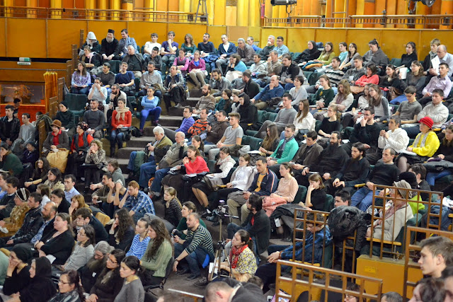 066 Avva Justin Parvu si Sfintii inchisorilor (Teatrul Luceafarul, Iasi, 2014.03.19)