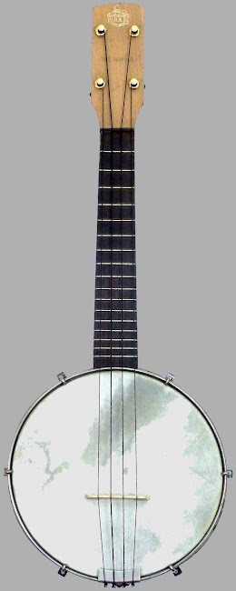 GH&S The Marvel Open Back Soprano Banjolele Banjo Ukulele