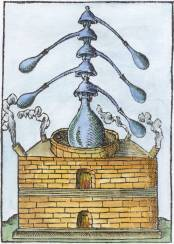 From Philipp Ulstad Coelum Philosophorum 1553, Alchemical And Hermetic Emblems 2