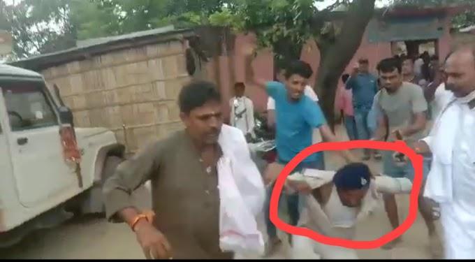 बिहार पंचायत चुनाव: फर्जी वोटर को रोकने पर भड़के ग्रामीण, ASI को पीटा