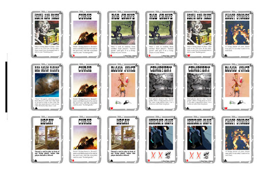 Death Mesa BANG! Cards Template