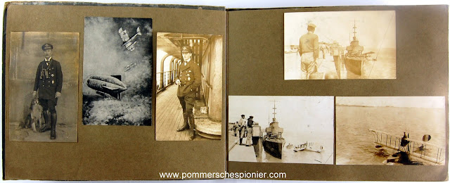 Photo album from airplane station at Zeebrugge